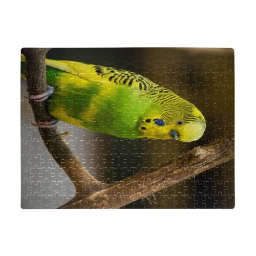 Pretty Parakeet A3 Size Jigsaw Puzzle (Set of 252 Pieces)