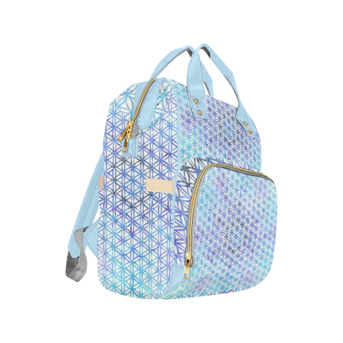 fleur de vie 7 Multi-Function Diaper Backpack (Model 1688)