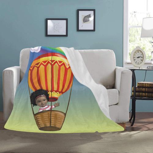 "Rainbow Blanket Ultra-Soft Micro Fleece Blanket 50""x60"""