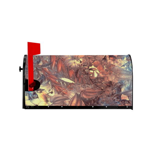 flowers #flowers #pattern Mailbox Cover