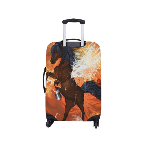 "Horse with water wngs Luggage Cover/Small 18""-21"""