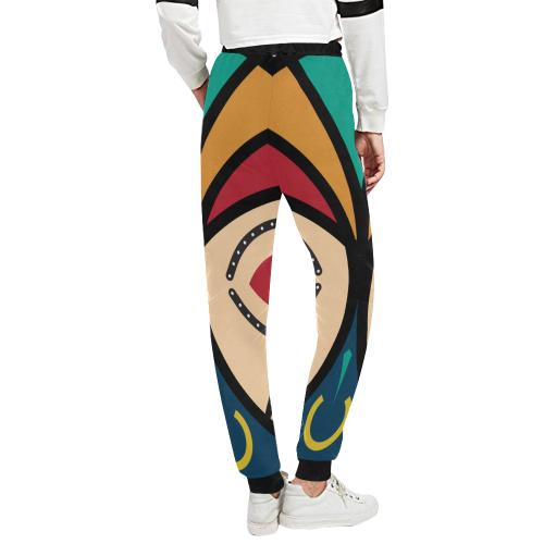 round luba Unisex All Over Print Sweatpants (Model L11)