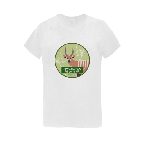 Conservation on Tap Bongo T Women Women's T-Shirt in USA Size (Two Sides Printing)