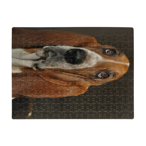 Basset Hound A3 Size Jigsaw Puzzle (Set of 252 Pieces)