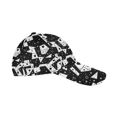 Black by Nico Bielow All Over Print Baseball Cap B