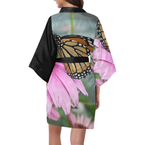 Monarch Butterfly Kimono Robe