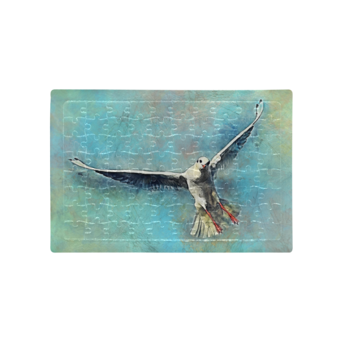 bird A4 Size Jigsaw Puzzle (Set of 80 Pieces)