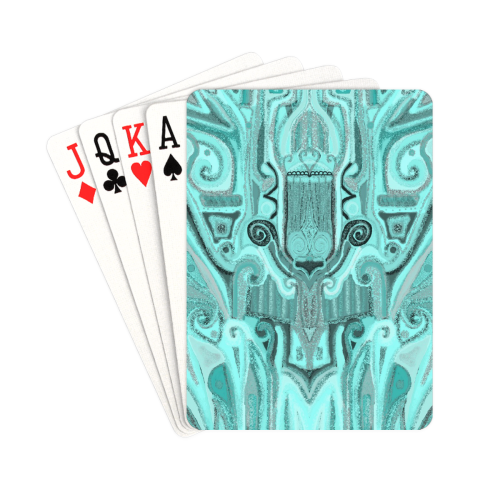 "cover 21 Playing Cards 2.5""x3.5"""