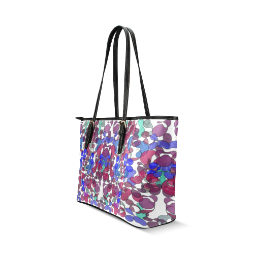 zappwaits v1 Leather Tote Bag/Small (Model 1640)