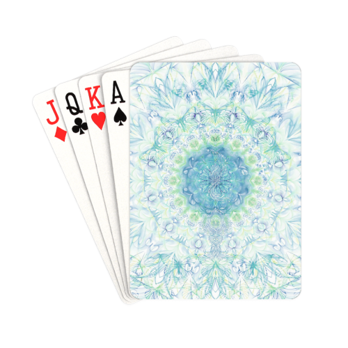 "petales 7 Playing Cards 2.5""x3.5"""