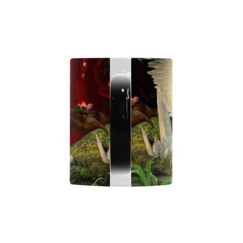 Cute little fairy and pegasus Custom Morphing Mug (11oz)