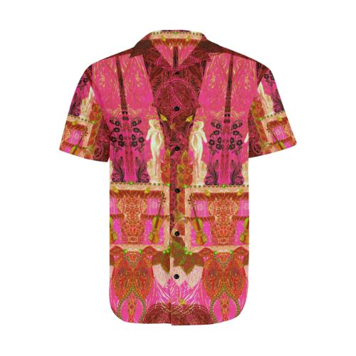 Milo6 Men's Short Sleeve Shirt with Lapel Collar (Model T54)