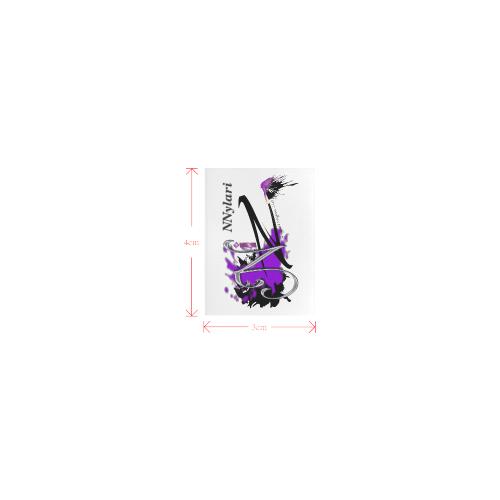 logoLabel_nnylariUmbrella Private Brand Tag on Umbrella Ribs (3cm X 4cm)