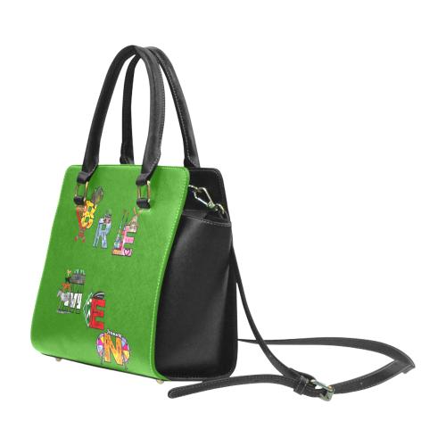 Bremen by Nico Bielow Rivet Shoulder Handbag (Model 1645)