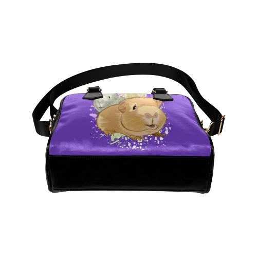 Guinea Pigs Shoulder Handbag (Model 1634)