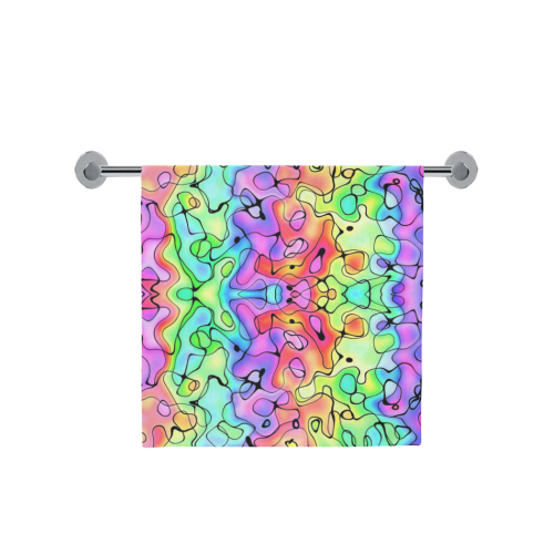 "Squirlies 7000px Bath Towel 30""x56"""