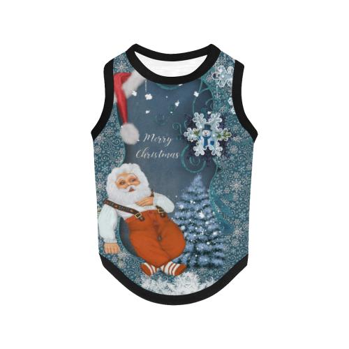 Funny Santa Claus All Over Print Pet Tank Top