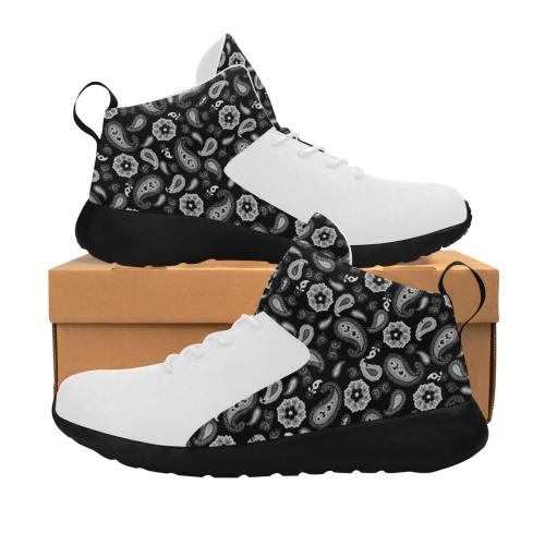 Black on White Men's Chukka Training Shoes (Model 57502)