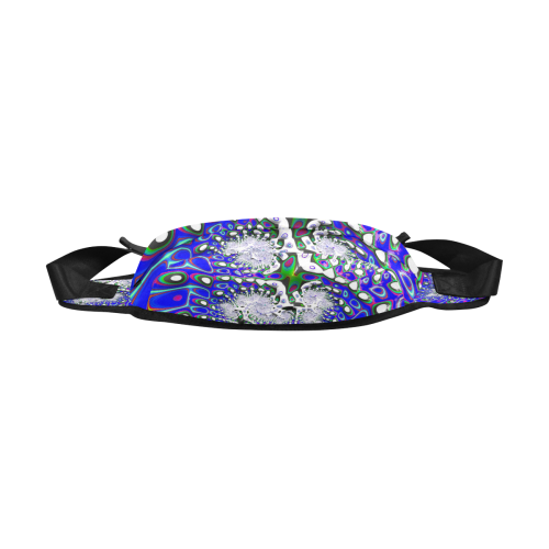 fractal fantasy 717C by JamColors Fanny Pack/Large (Model 1676)