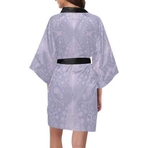 Ripples in Lavender Kimono Robe