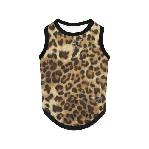 Buzz Leopard All Over Print Pet Tank Top