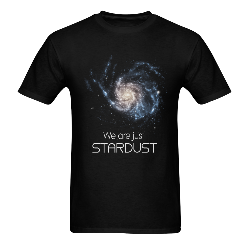 We are Stardust Men's T-shirt in USA Size (Two Sides Printing) (Model T02)