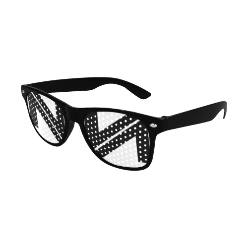 NUMBERS COLLECTION WHITE/BLACK Custom Goggles (Perforated Lenses)