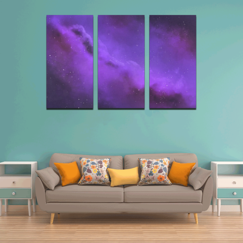 Purple Dream Canvas Wall Art X (3 pieces)