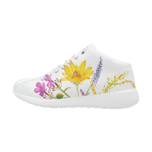 SERIES JASMIN WATERCOLOR FLOWERS Women's Basketball Training Shoes (Model 47502)