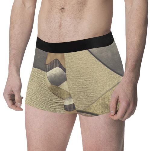 Space 3 sm Men's All Over Print Boxer Briefs (Model L34)