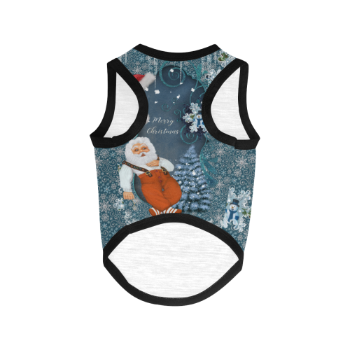 Funny Santa Claus All Over Print Pet Tank Top