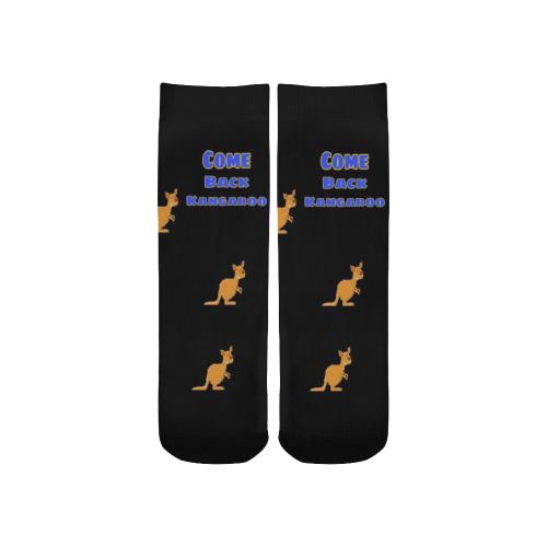 Tile Come back Kangaroo Boy Socks Custom Socks for Kids