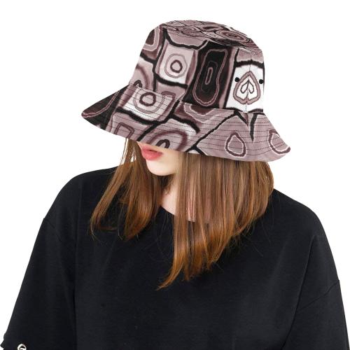 spirale 19 All Over Print Bucket Hat