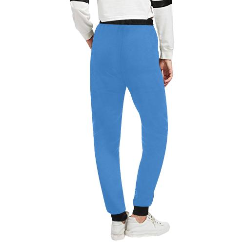 Keep Hope Alive Hands Blue Unisex All Over Print Sweatpants (Model L11)