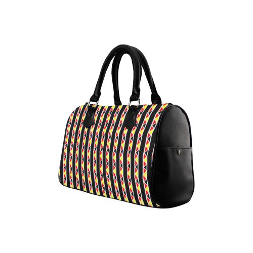 Kente Stripes Boston Handbag (Model 1621)