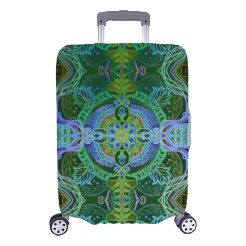 "floralie 18 Luggage Cover/Large 26""-28"""
