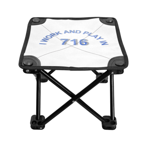 I WORK AND PLAY  IN 716 Folding Fishing Stool