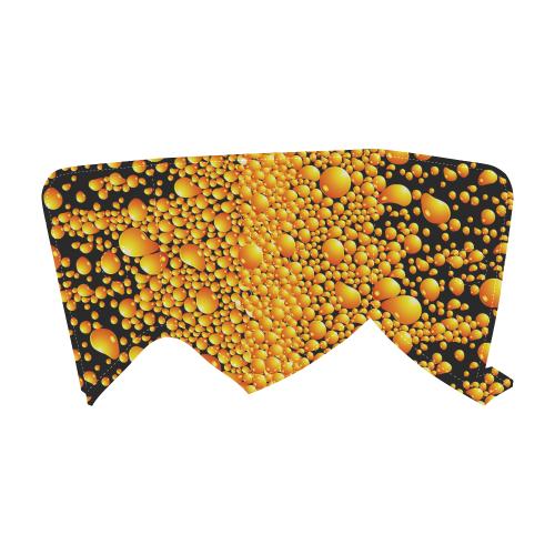 yellow bubble Unisex Single Button Snow Boots (Model 051)
