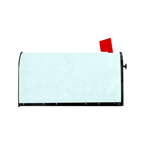 color light cyan Mailbox Cover