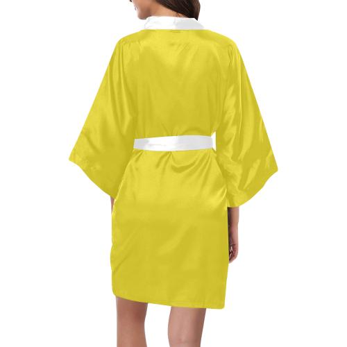 Sunflower Kimono Robe
