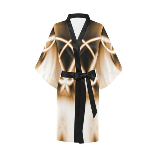 In To The Cave Kimono Robe