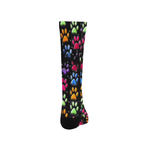Paws Popart by Nico Bielow Trouser Socks (For Men)