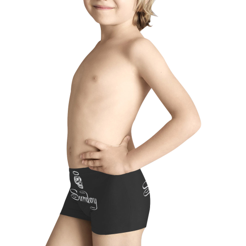 Creepy Sunday Kids' All Over Print Boxer Briefs (Model L24)