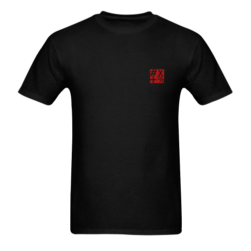 NUMBERS Collection Symbols Red Men's T-shirt in USA Size (Front Printing Only) (Model T02)