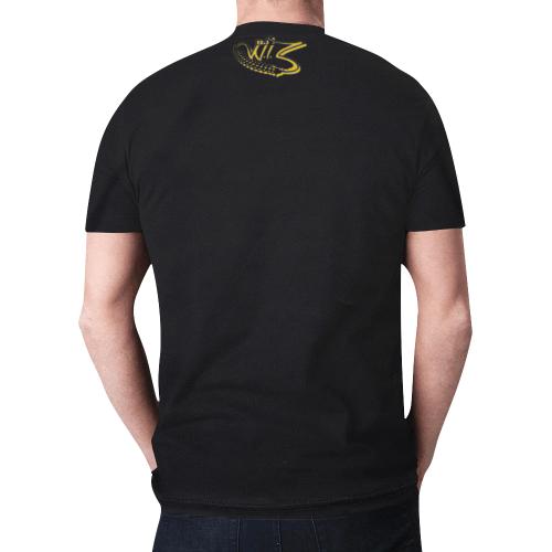 Wu-Tang's DJ W.I.Z T-Shirt New All Over Print T-shirt for Men/Large Size (Model T45)