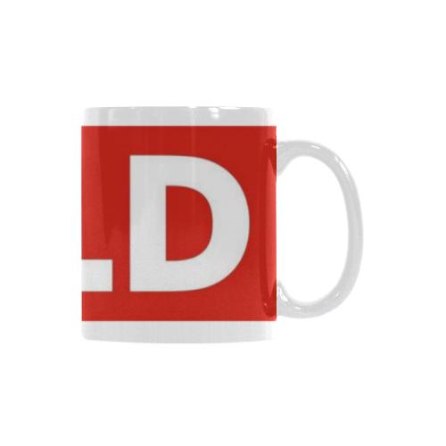 Ceramic Coffee Mug Sold Sign House Keys Custom White Mug (11oz)