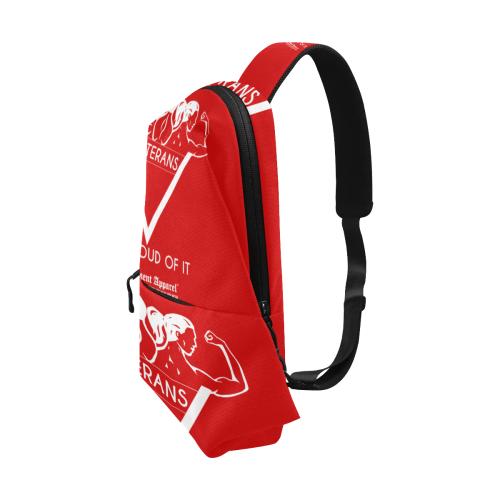 Proud Veterans Shoulder/Chest Bag Chest Bag (Model 1678)