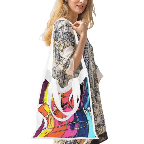 Promise Canvas Tote Bag/Medium (Model 1701)