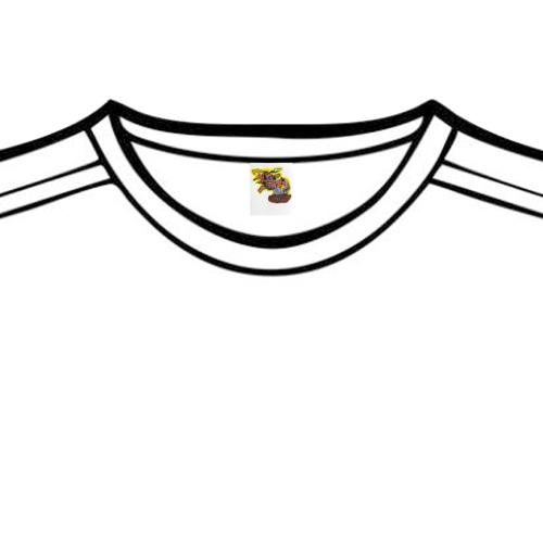 cavemanlogo1 Tshirt Private Brand Tag on Tops (4cm X 5cm)