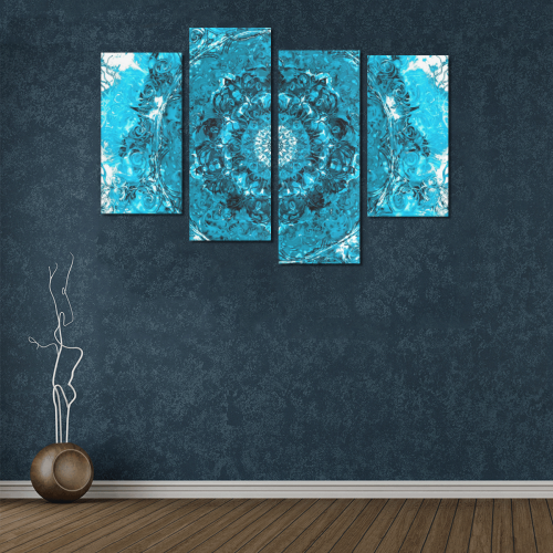 light and water 2-14 Canvas Wall Art Y (4 pieces)